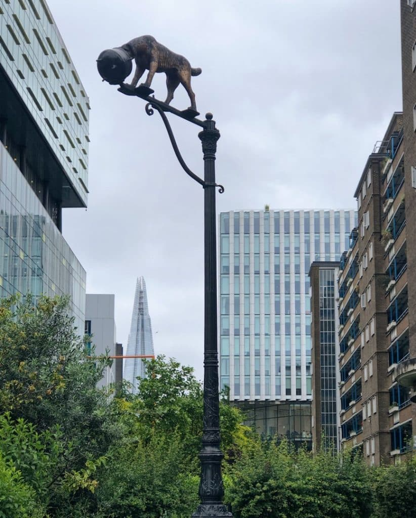 Dog Sculpture Southwark
