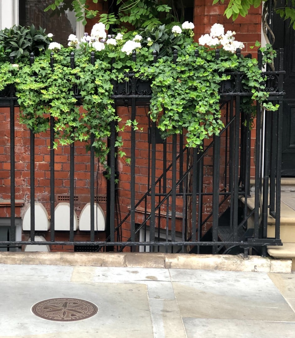 North Audley Street Roundels