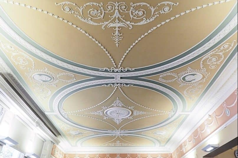 One Pembridge Square Ceiling