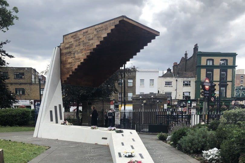 Bethnal Green Tube Disaster Memorial