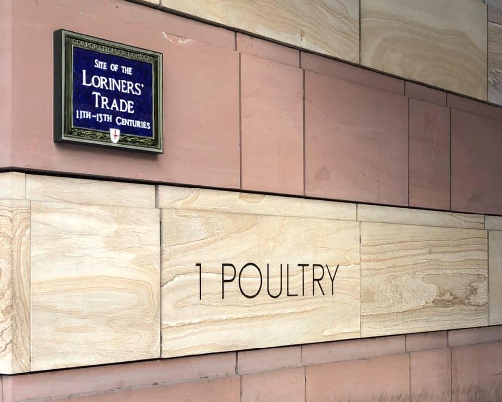 No.1 Poultry's Decorative Frieze