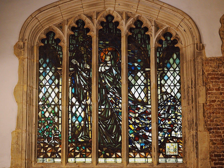 St Ethelburga Stained Glass