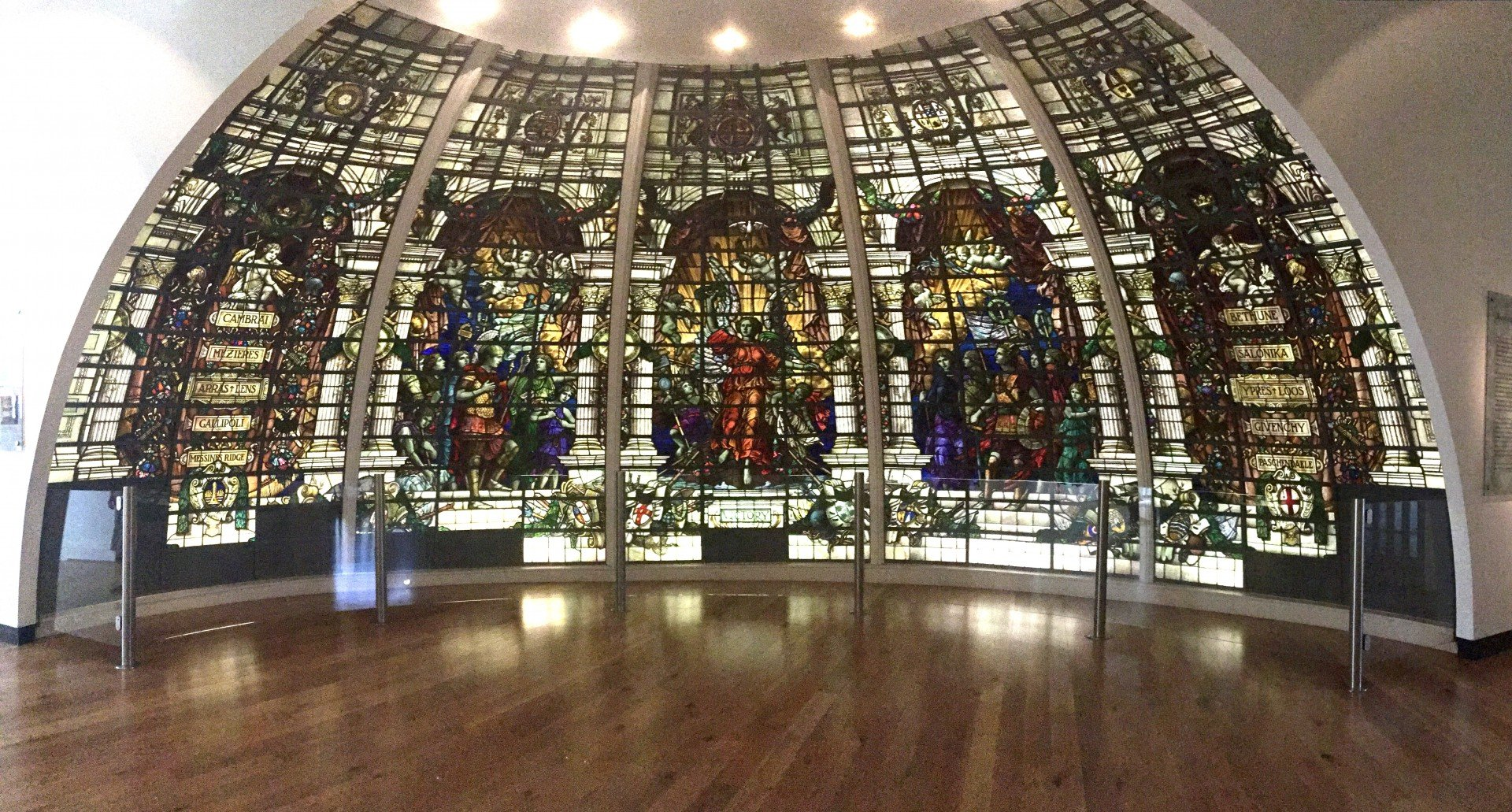 Baltic Exchange London Stained Glass Window