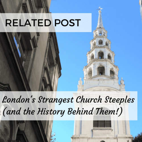 London's Strangest Church Steeples
