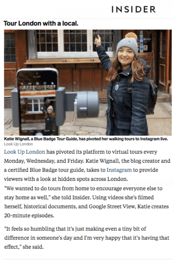 Virtual London Walking Tours