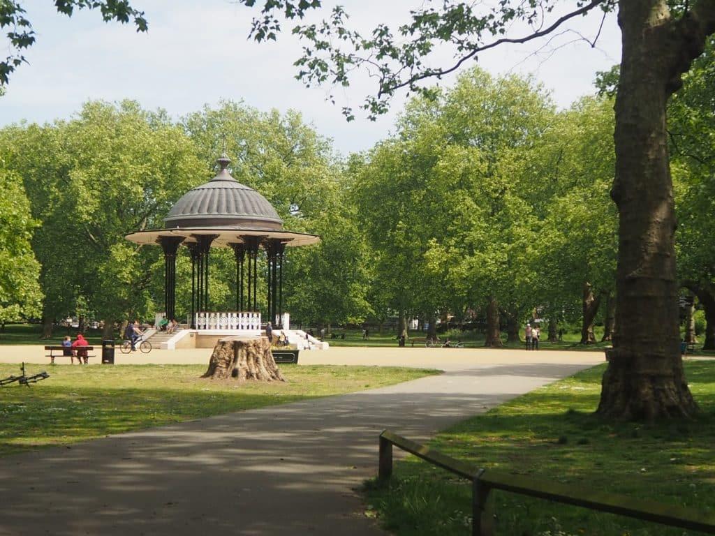 Southwark Park Caryatids
