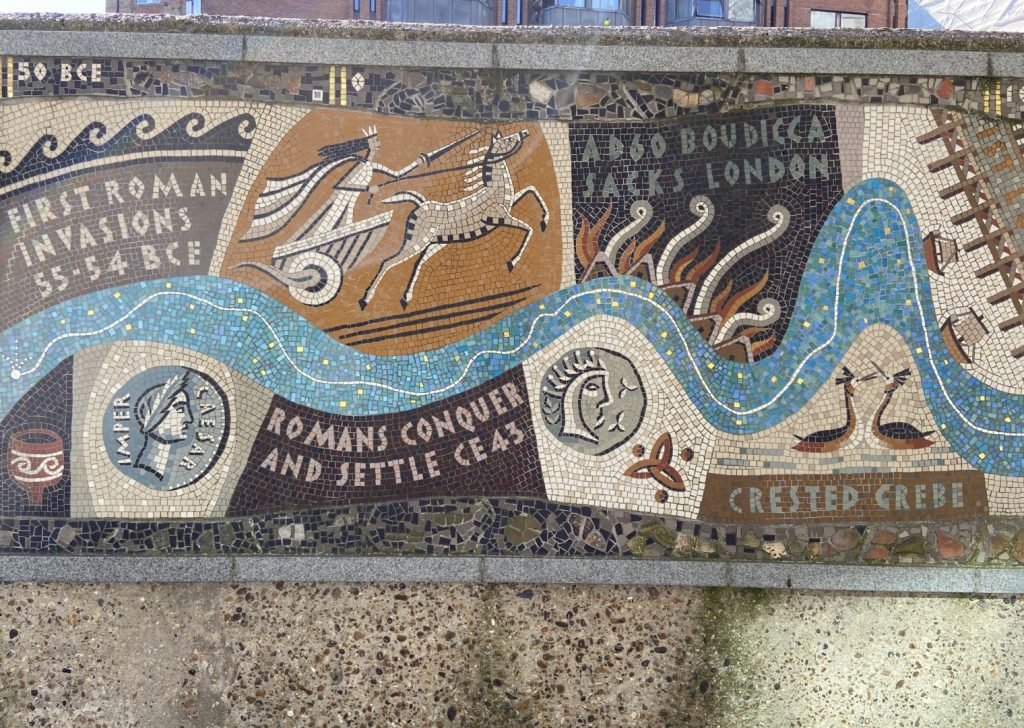 Queenhithe Mosaic | Look Up London