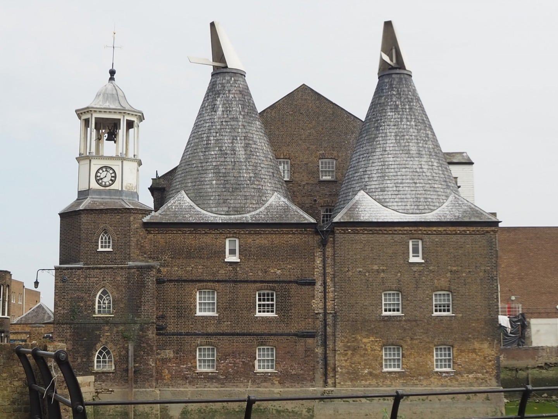 Three Mills History