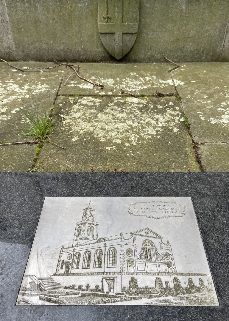American History London - St Mary Aldermanbury
