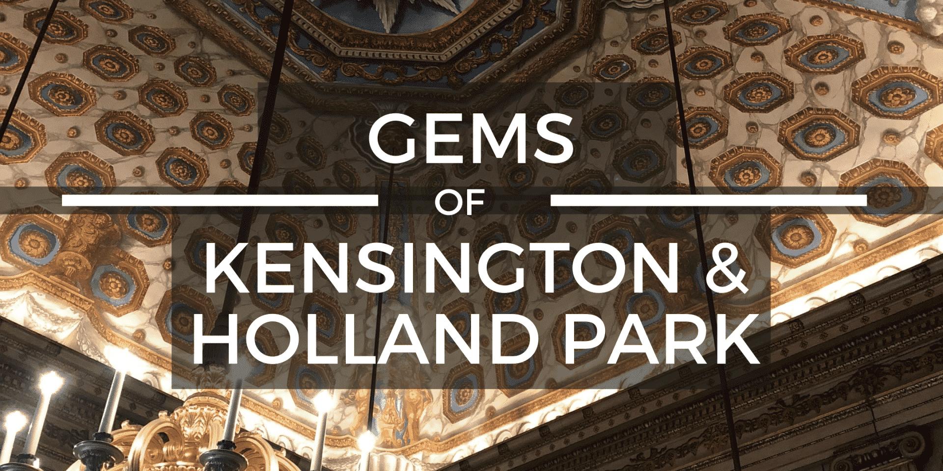 Kensington and Holland Park Virtual Tour