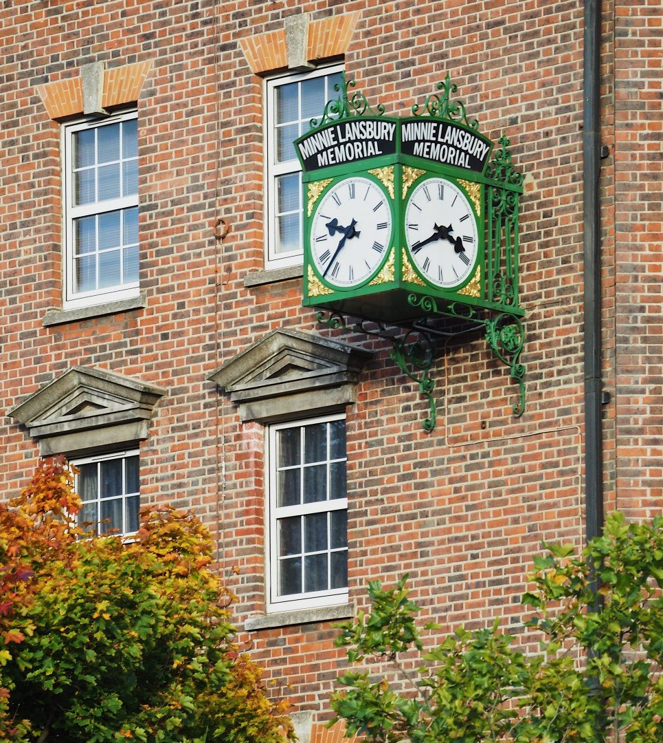 Millie Lansbury Clock - Bow Road