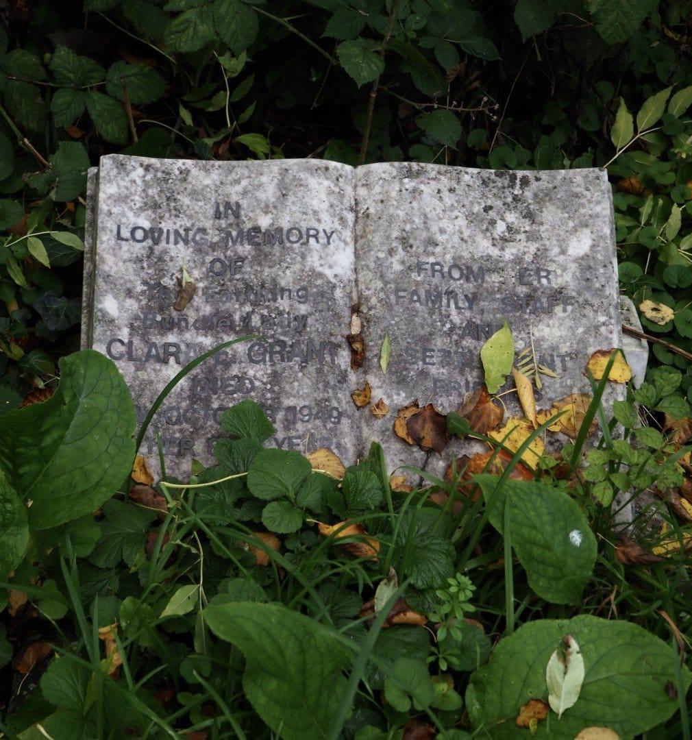 Clara Grant Grave, Tower Hamlets Cemetery