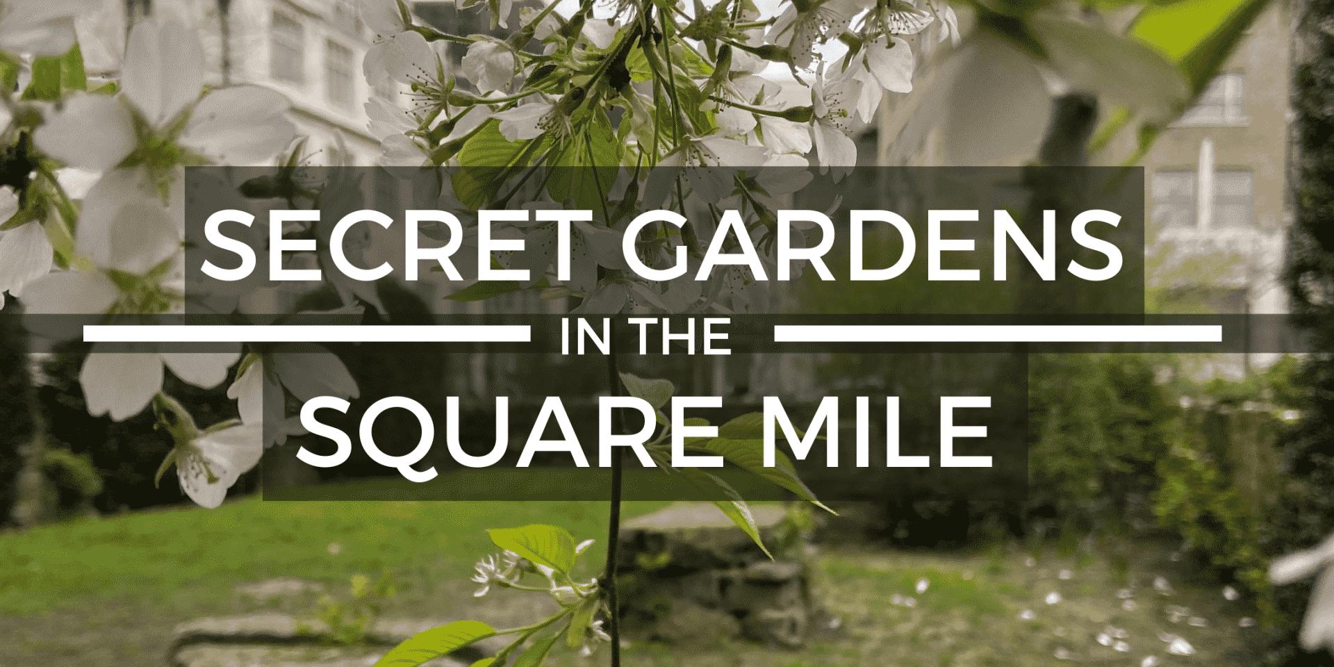 Secret Gardens in the City Virtual Tour