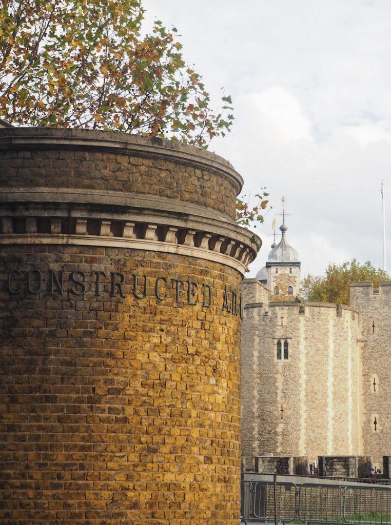 Tower Subway - Northern Entrance - Look Up London