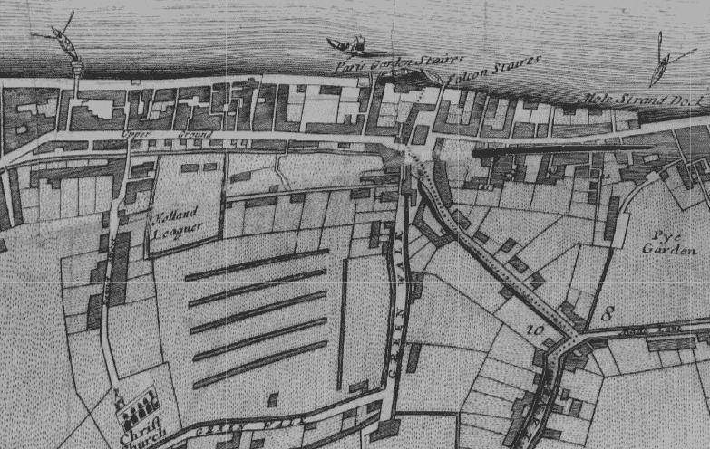 Hopton Street History - William Morgan Map