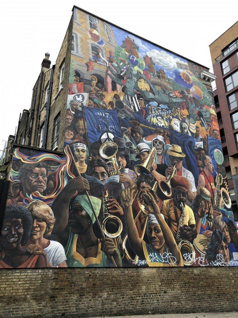 Best Historic London Murals - Dalston
