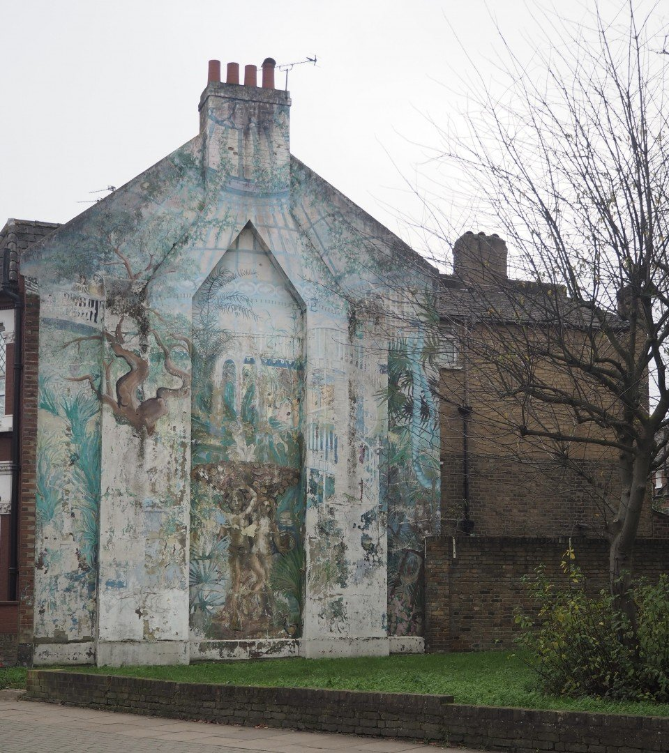 Best Historic London Murals - Lavender Hill