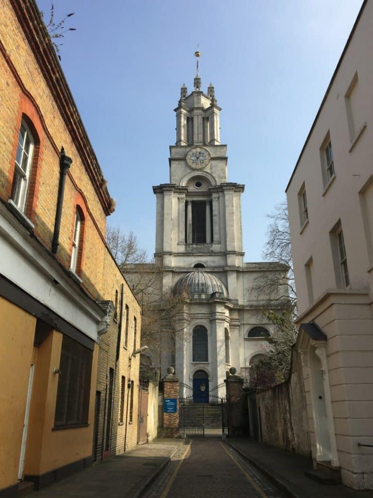 St Anne's Limehouse - History of St Matthias Old Church Poplar