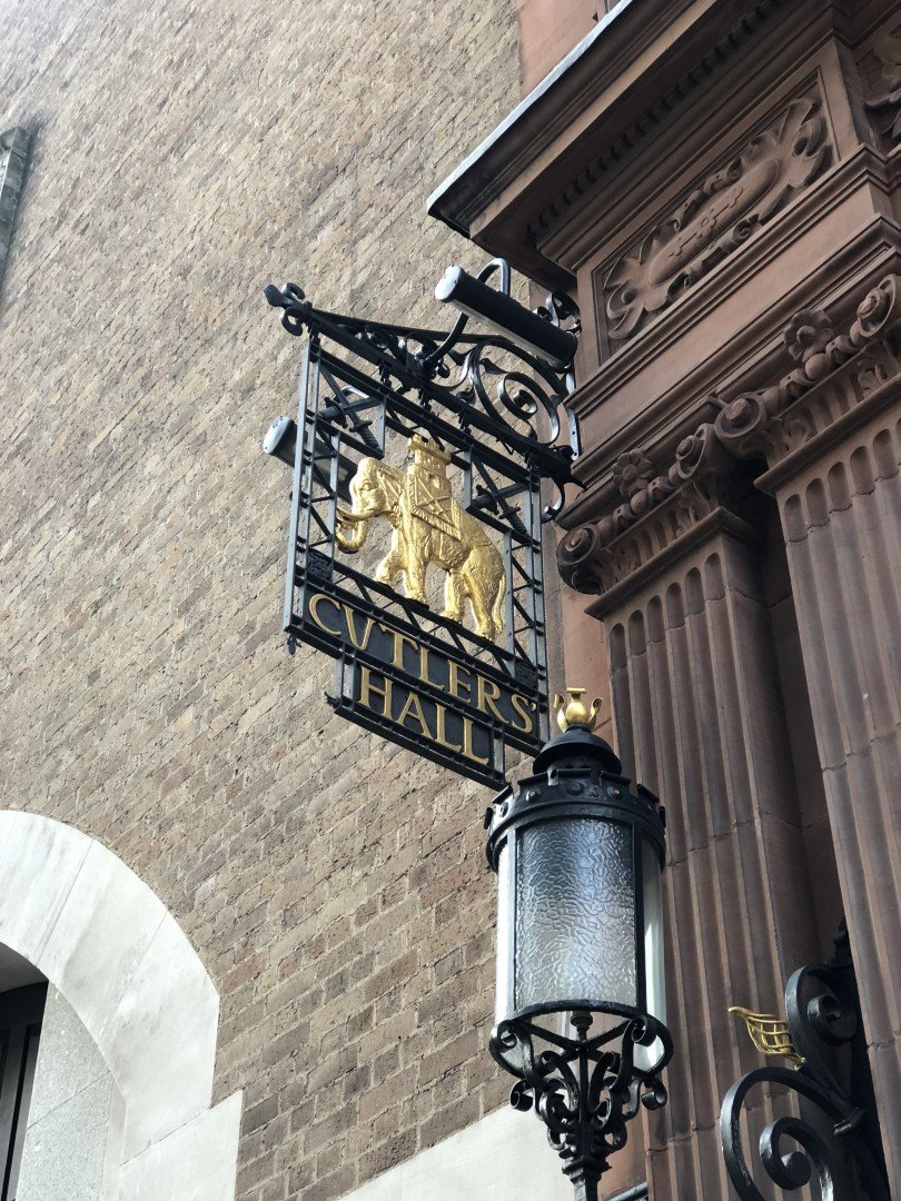 City of London Animals - Cutlers Hall