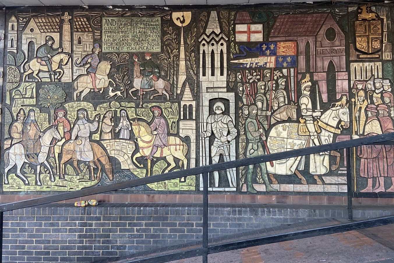 Best Historic London Murals - Old Kent Road