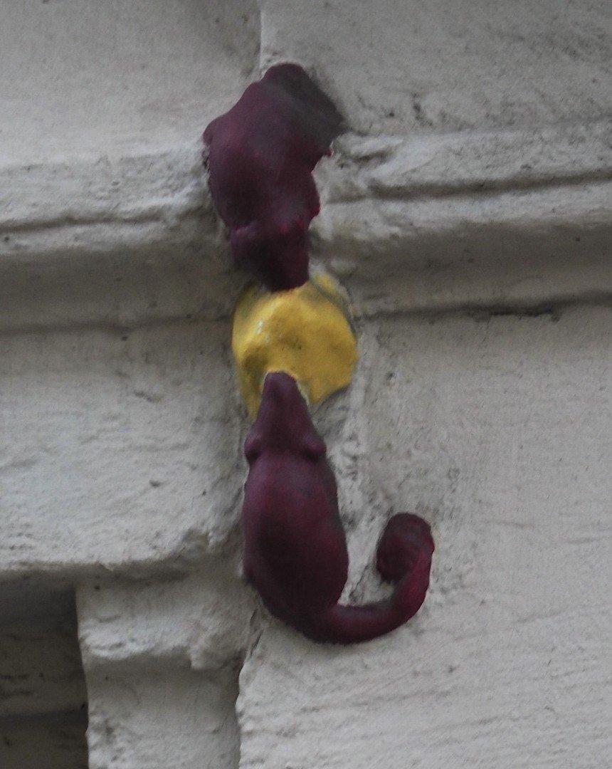 City of London Animals - Philpot Lane Mice