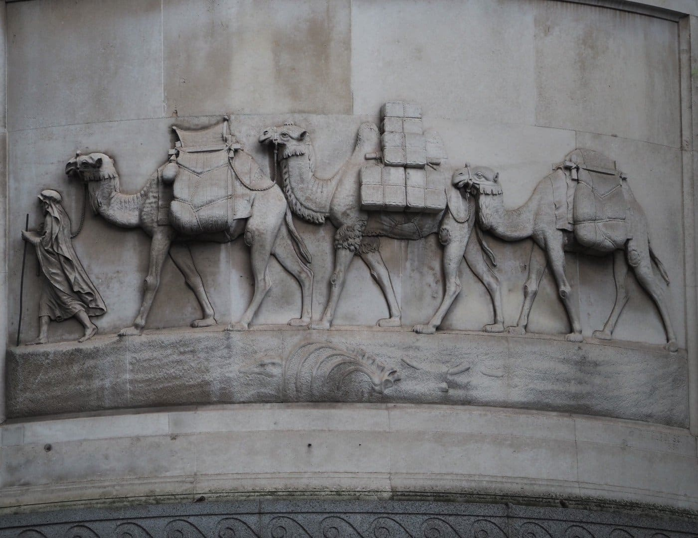 City of London Animals - Eastcheap Camels