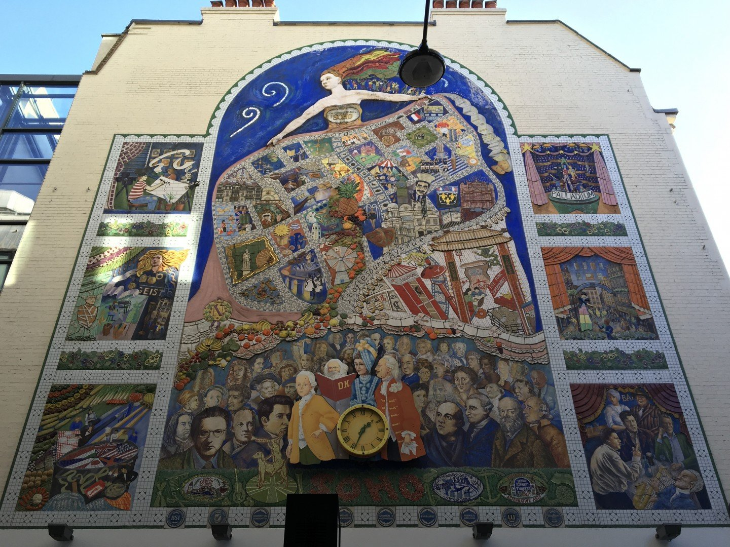Best Historic London Murals - Spirit of Soho