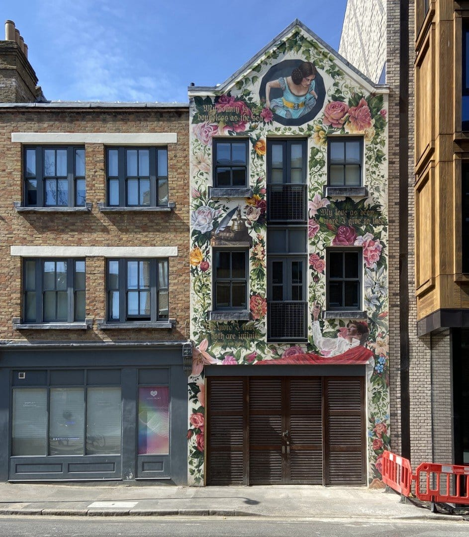 Best Historic London Murals - Spitalfields