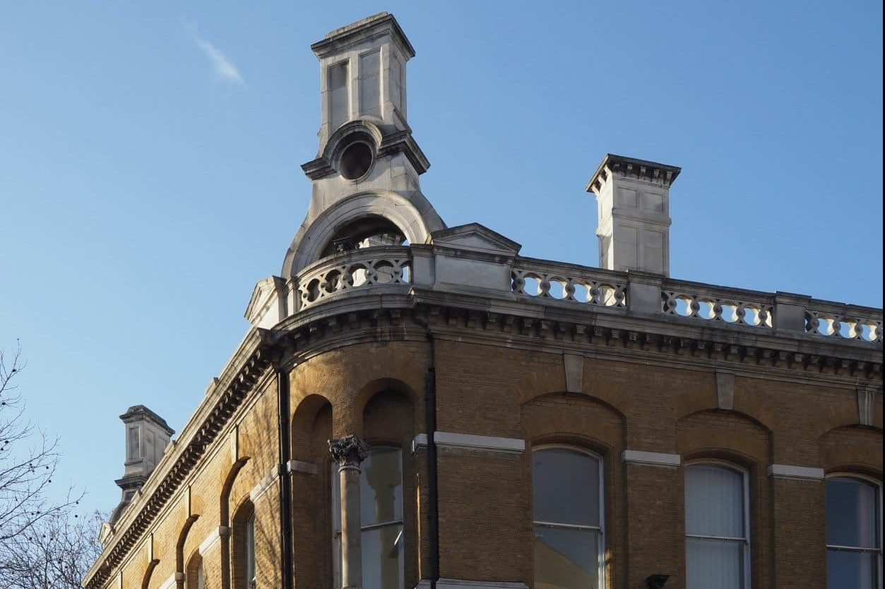 Charrington Brewery Mile End Road | Look Up London