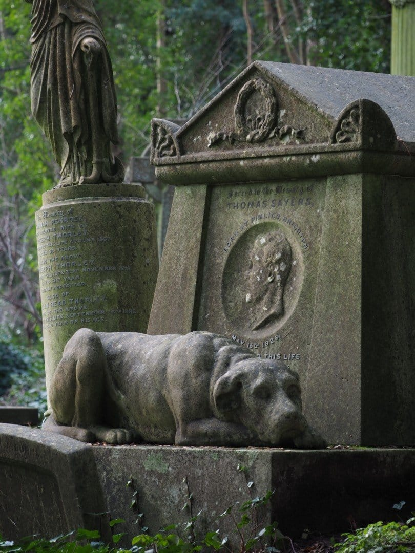 Thomas Sayers - 10 Strange London Memorials | Look Up London