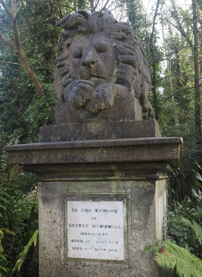 George Wombwell - 10 Strange London Memorials | Look Up London