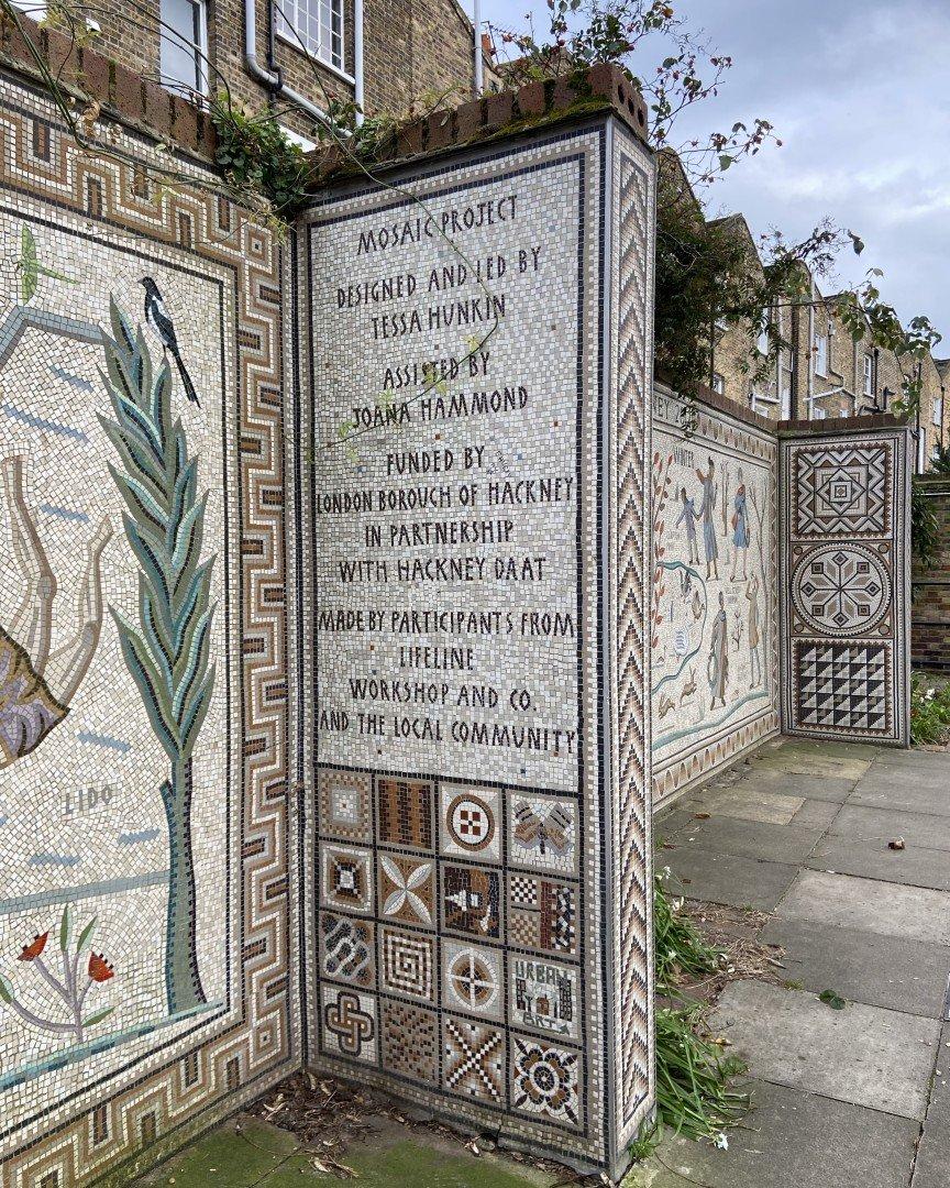 Shepherdess Walk Mosaics