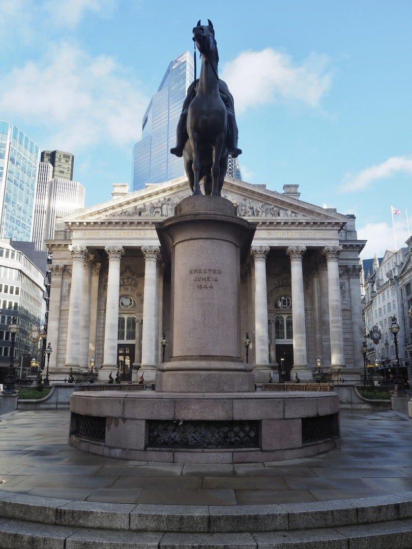 Duke of Wellington Royal Exchange | Look Up London
