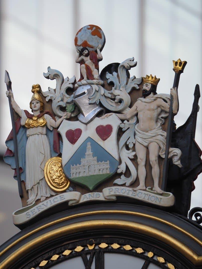 Clock Royal Exchange | Look Up London