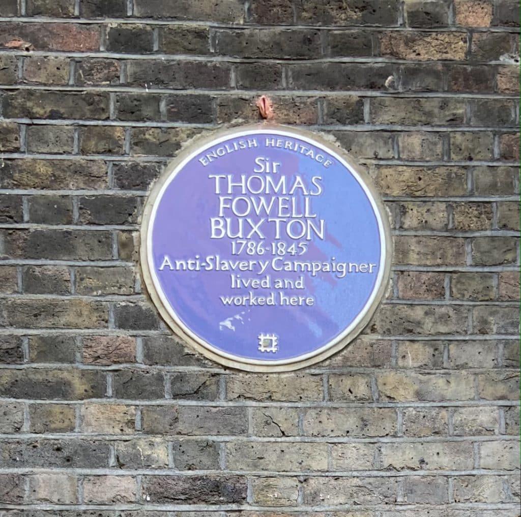 Thomas Buxton Plaque | Look Up London