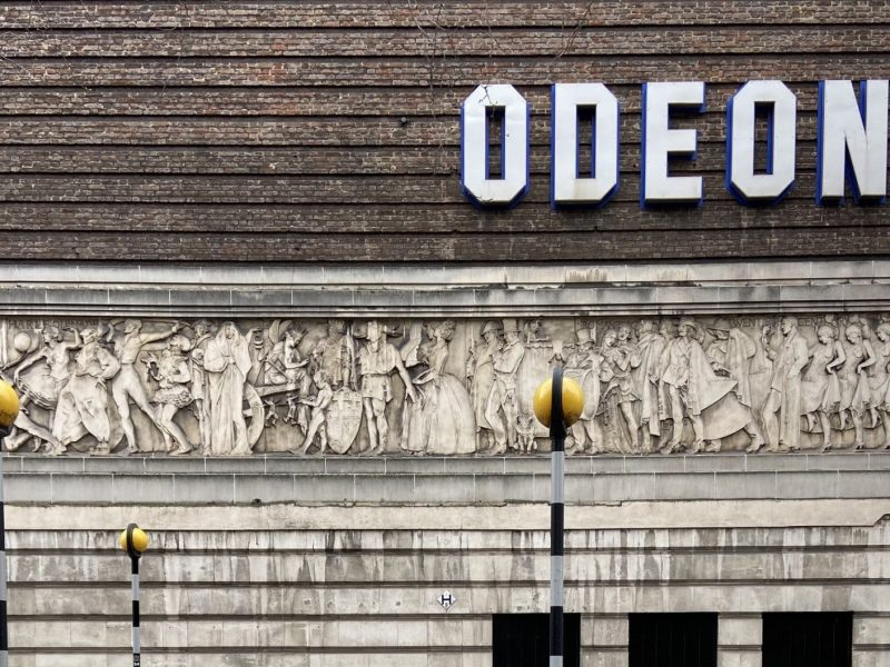 Odeon Covent Garden Frieze - Look Up London