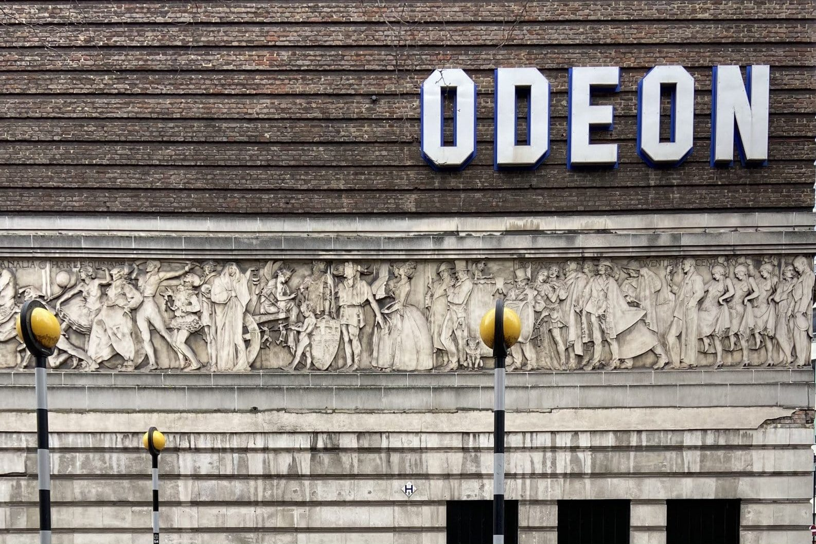Odeon Covent Garden Frieze - Look Up London