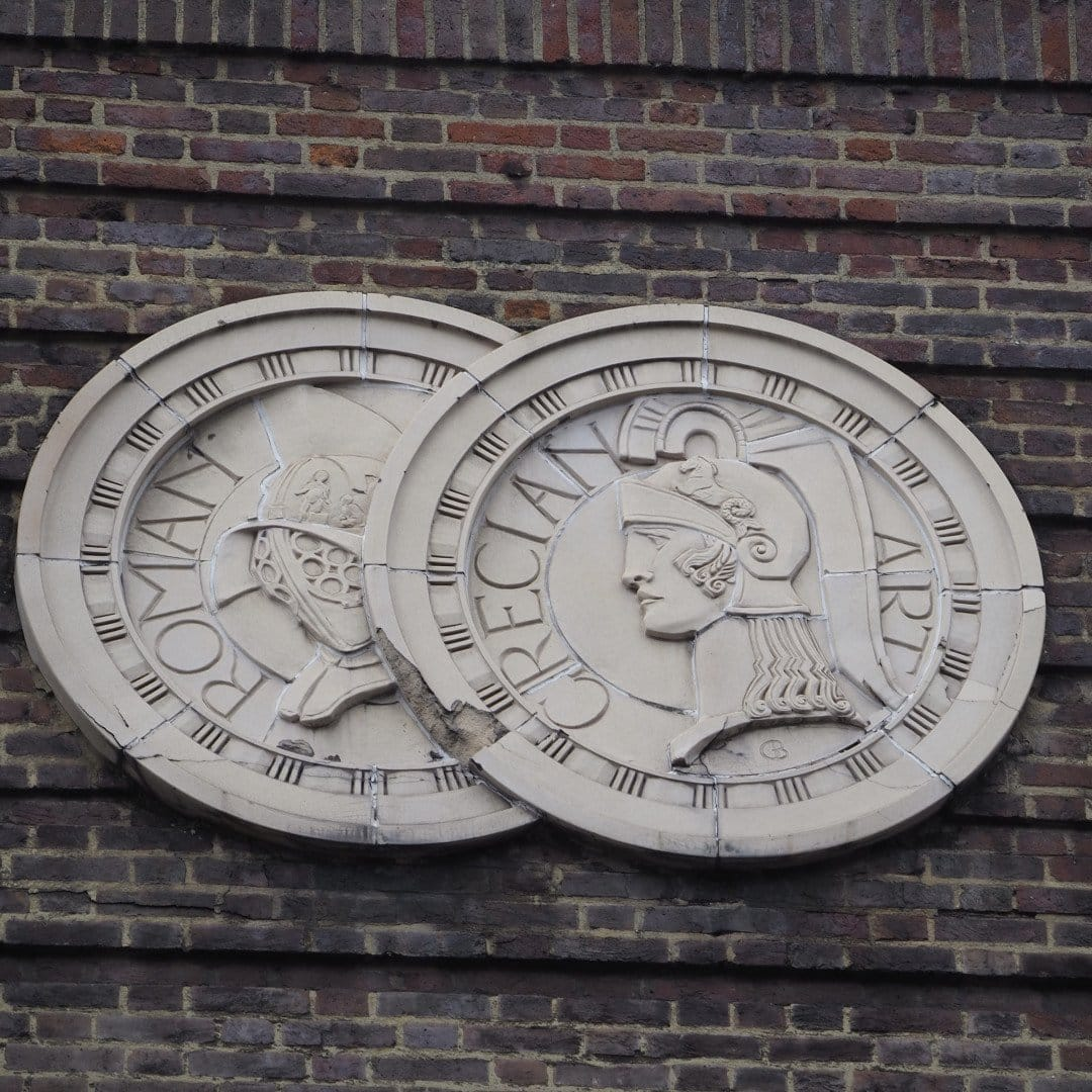 Odeon Covent Garden Frieze Roundels - Look Up London