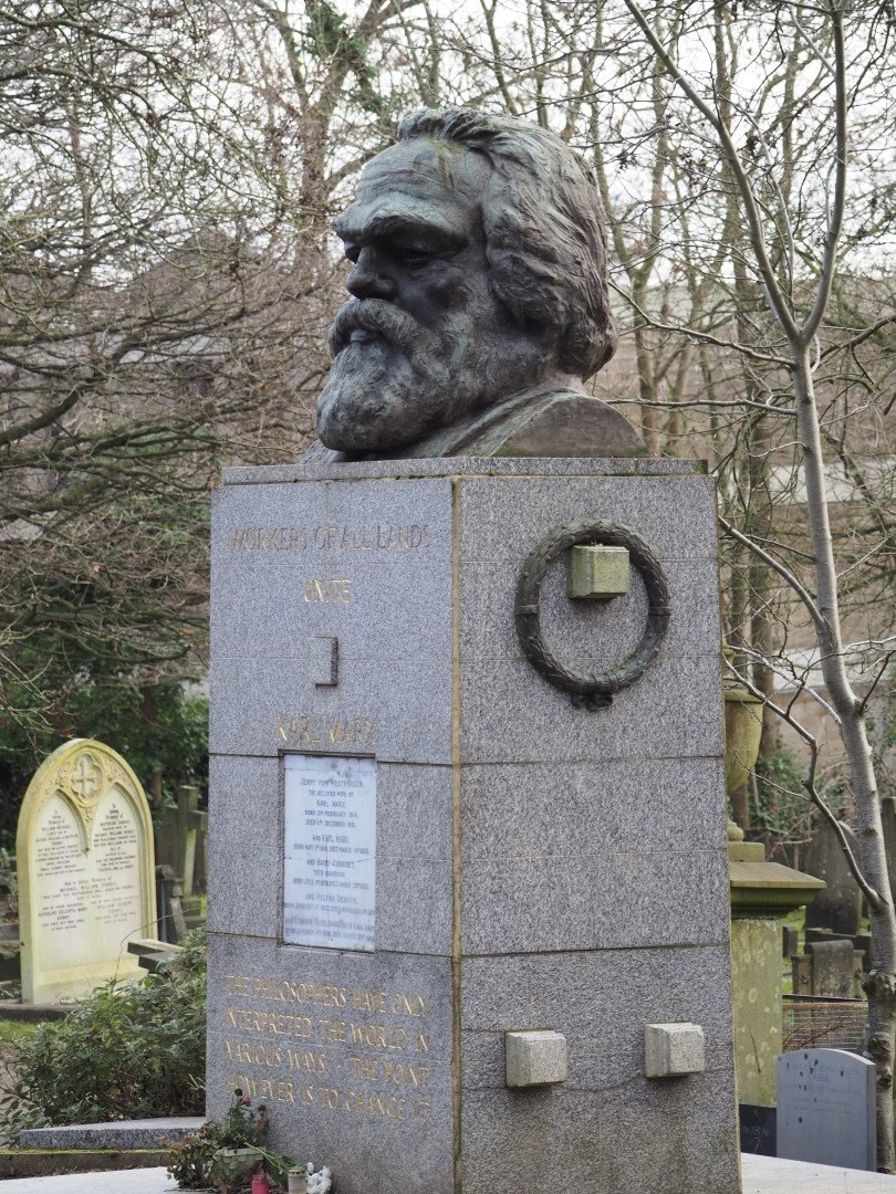 Karl Marx Highgate Cemetery | Look Up London