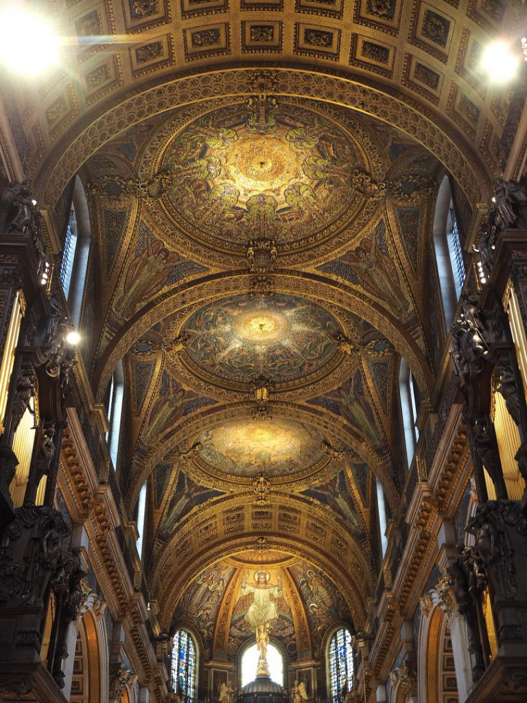 London's Best Mosaics | Look Up London - St Paul's Cathedral