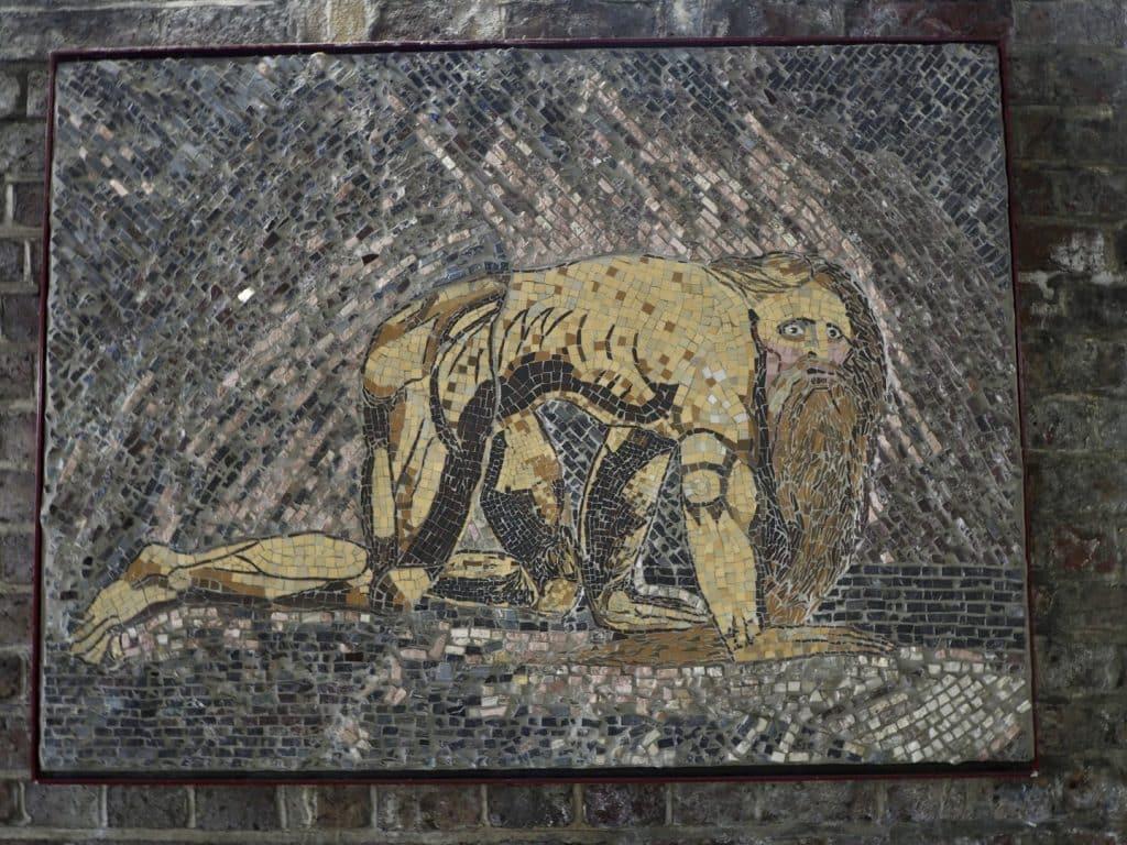London's Best Mosaics | Look Up London - Blake