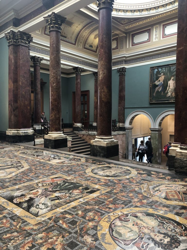London's Best Mosaics | Look Up London - National Gallery