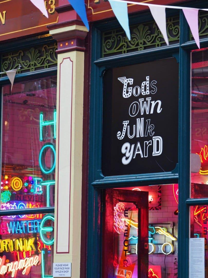 God's Own Junkyard Leadenhall Market   Look Up London