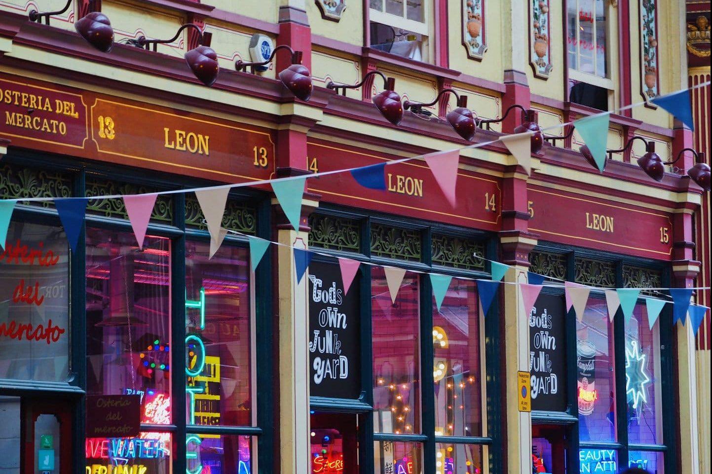 God's Own Junkyard Leadenhall Market | Look Up London