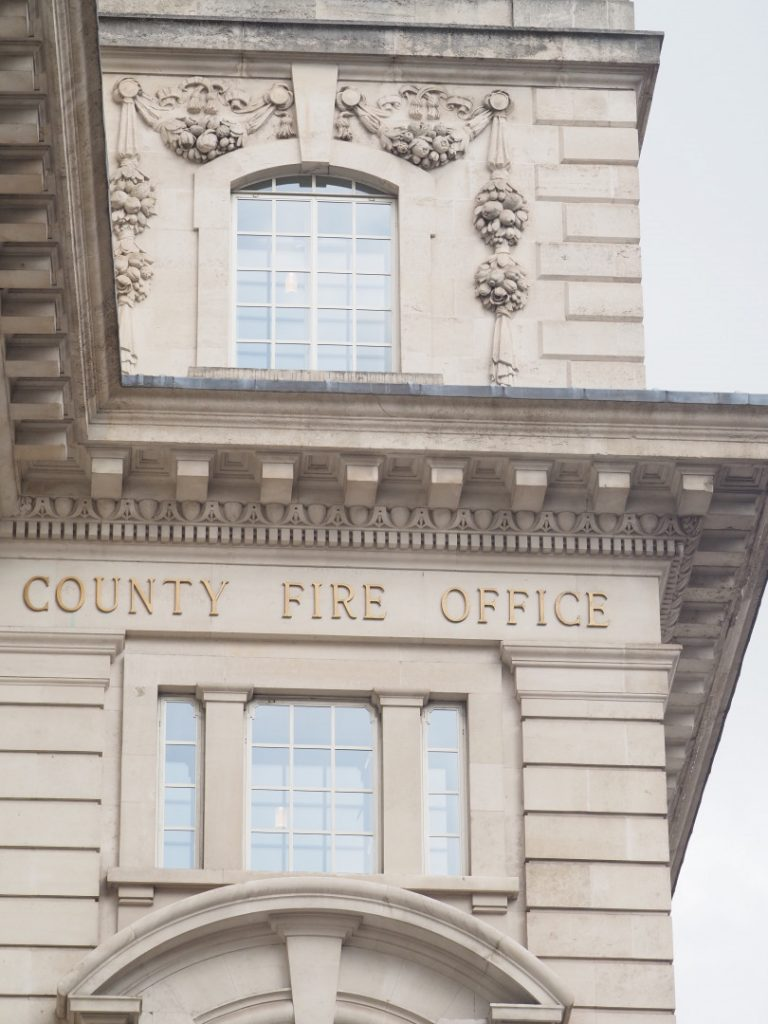 Former County Fire Office | Look Up London