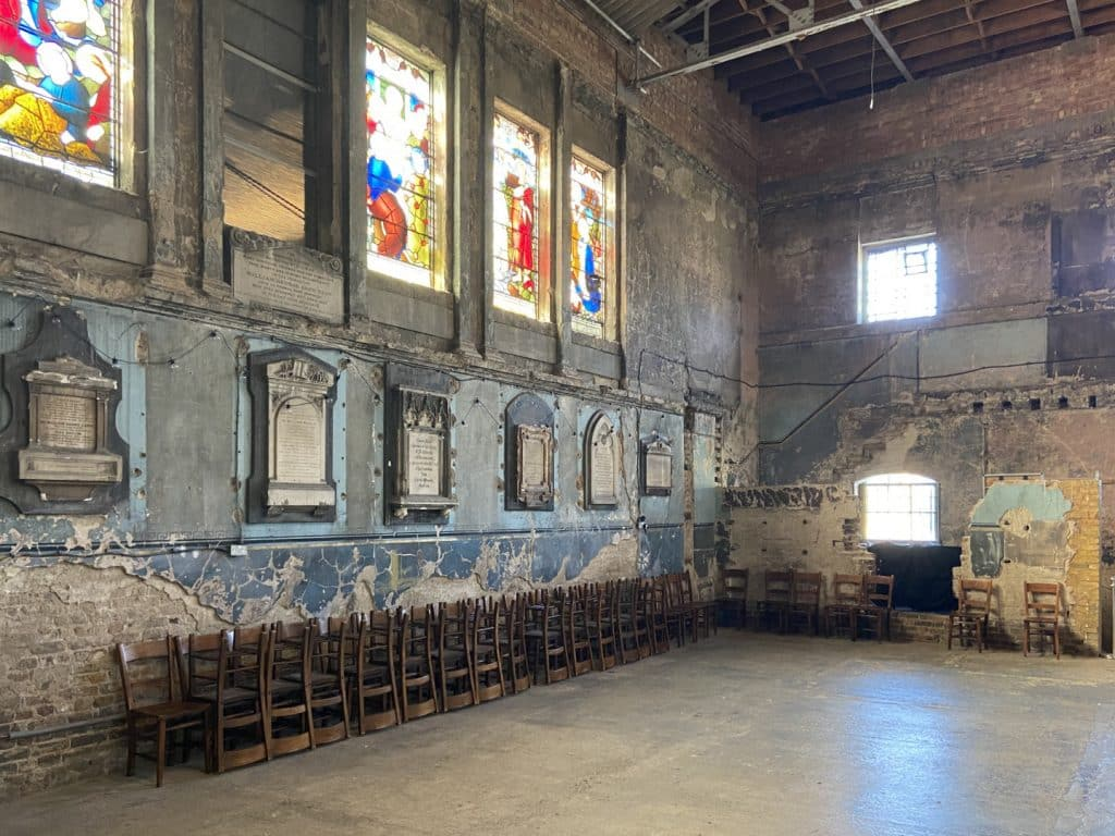 Unusual Church Renovations   Asylum, Peckham   Look Up London
